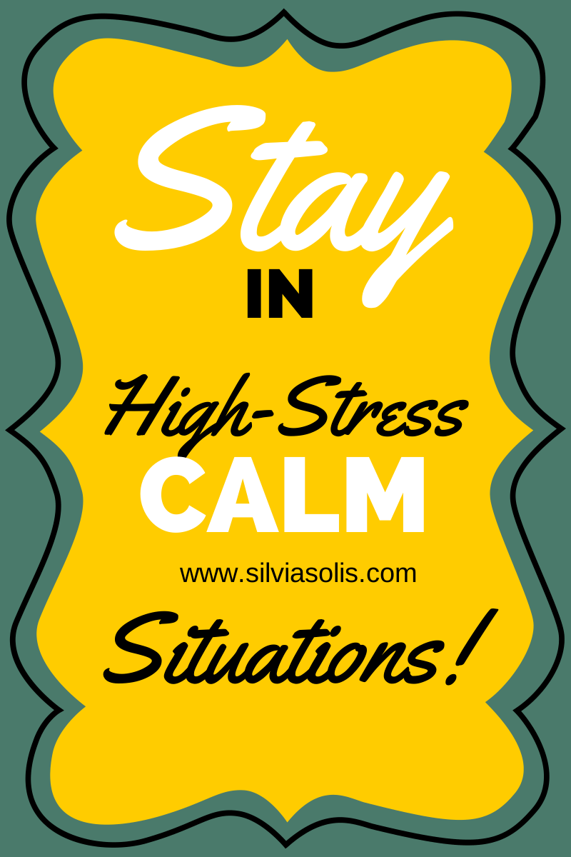 how to stay calm in a stressful situation Do you wish to learn how to stay calm in any situation learn the mechanics underlying your distress and learn how to calm them down with these techniques.